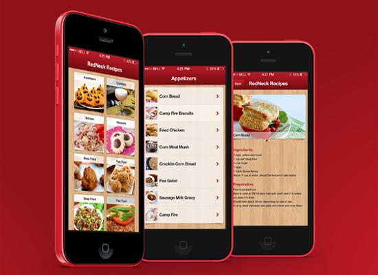 Restaurant menu apps
