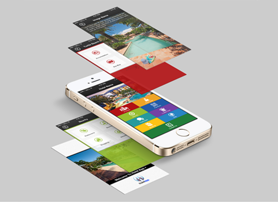 Hotel apps design for booking