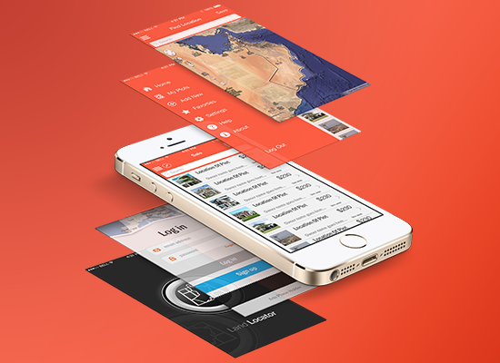Real estate & Land locator apps